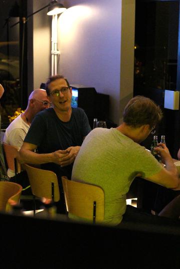 """Foto van het So Cards event """"Skip The Small Talk"""" in het Arcade Hotel in Amsterdam. Event fotografie op locatie."""